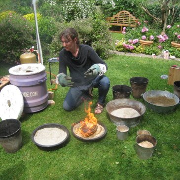 Week end raku au jardin